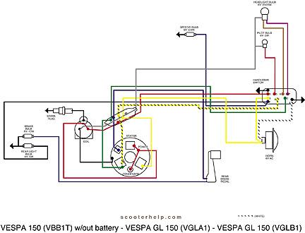 club car 48 volt headlight wiring diagram scooter help vespa 150  vbb1t   scooter help vespa 150  vbb1t