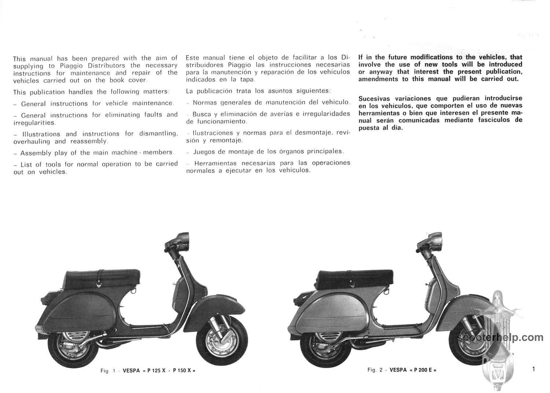 p125 p200 factory repair manual