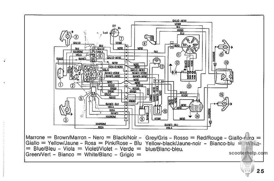 vespa px wiring diagram