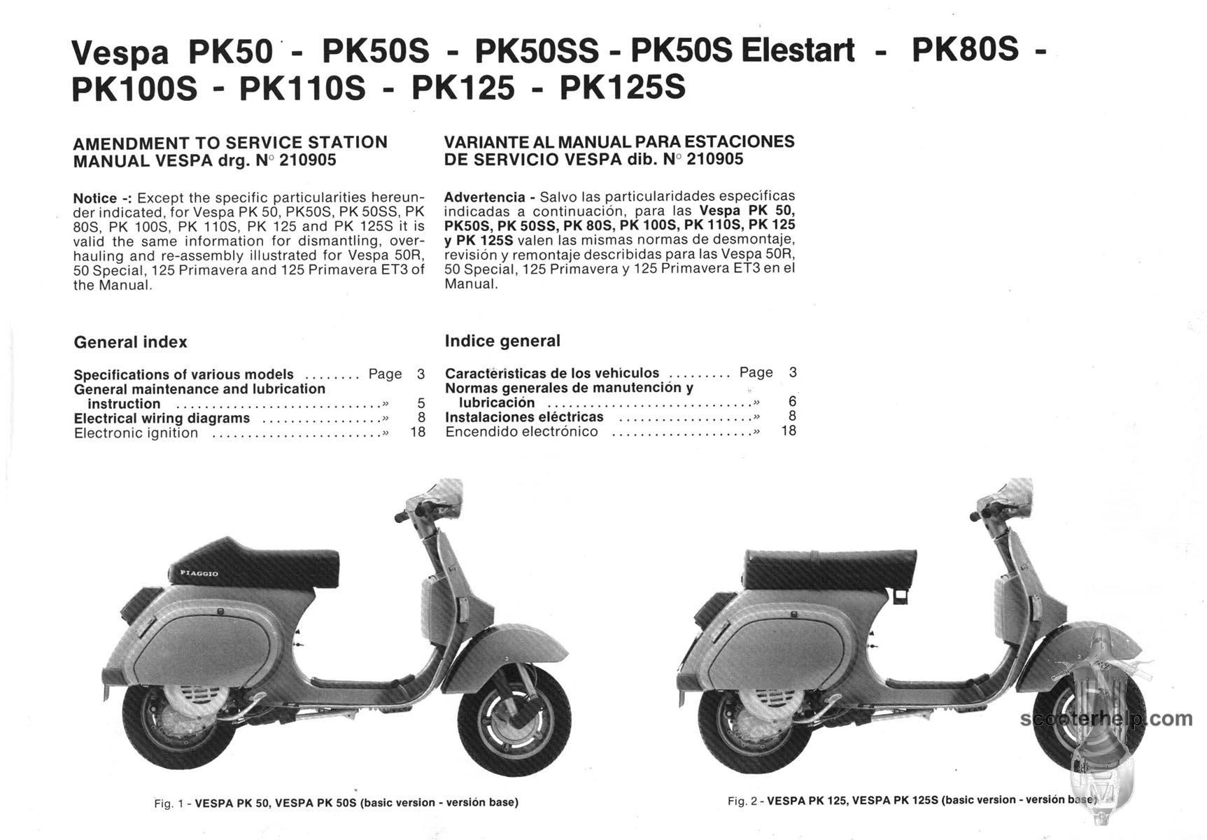 Vespa Manual Pdf Complete Wiring Diagrams Gts 300 Super Diagram Pk Factory Repair Rh Scooterhelp Com Et4 125 Gtv 250